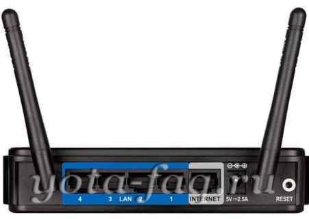 Yota и DIR 620.Беспроводной маршрутизатор 3G/CDMA/Wimax