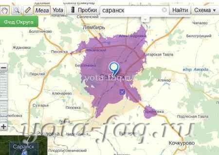 Мегафон LTE-штурмом взял Саранск