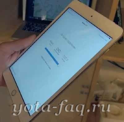 Apple iPad mini 3 Yota mobile.Тесты,сравнения