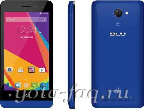 Смартфоны Blu Studio LTE
