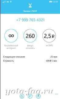 Your Yota или Yota Metric.Приложение для смартфонов Windows Phone