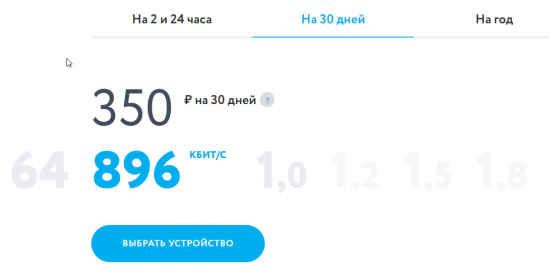 Тарифы Yota Краснокамск