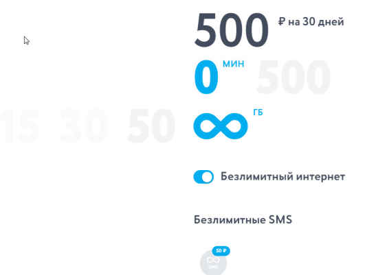 Тарифы Yota Туринск