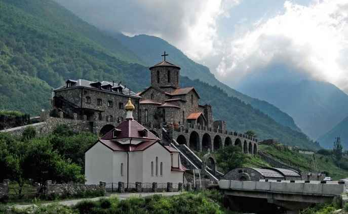 Зона покрытия Yota в республике Северная Осетия