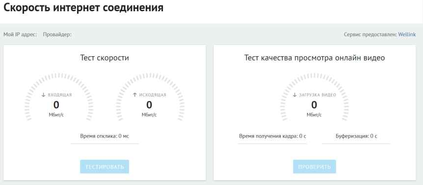 Банки.ру Speedtest